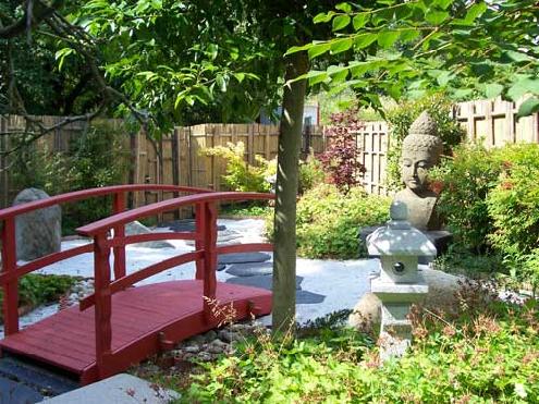 jardin japonais zen. Black Bedroom Furniture Sets. Home Design Ideas